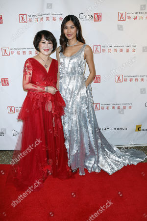 Editorial image of China Fashion Gala 2019 Presented by China Institute & Yue-Sai Kan China Beauty Charity Fund, New York, USA - 01 May 2019