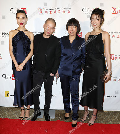 Shu Pei, Jason Wu, Angelica Cheung (Editor-in-Chief; Vogue China) and Xiao Wen Ju