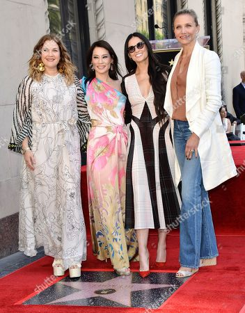 Stock Picture of Lucy Liu, Drew Barrymore, Demi Moore and Cameron Diaz