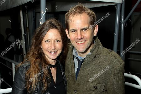 Stock Photo of Victoria Gregory (Producer), James Erskine (Exec. Producer)