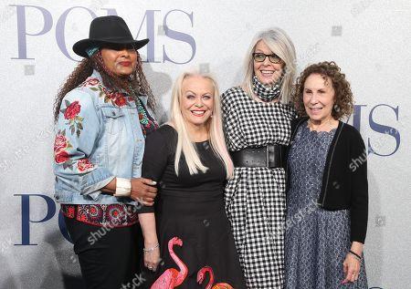 Pam Grier, Jacki Weaver, Diane Keaton and Rhea Perlman