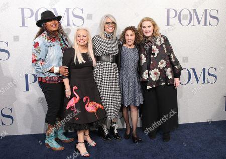 Pam Grier, Jacki Weaver, Diane Keaton, Rhea Perlman and Celia Weston