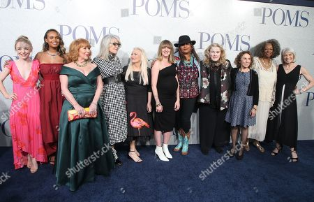 Alexandra Ficken, Alisha Boe, Patti French, Diane Keaton, Jacki Weaver, Pam Grier, Celia Weston, Rhea Perlman, Carol Sutton, Ginny MacColl
