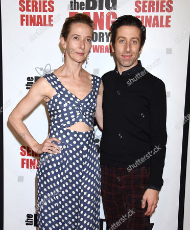 Simon Helberg and Jocelyn Towne