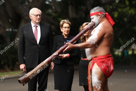Editorial image of NSW governor Margaret Beazley's swearing-in, Sydney, Australia - 02 May 2019