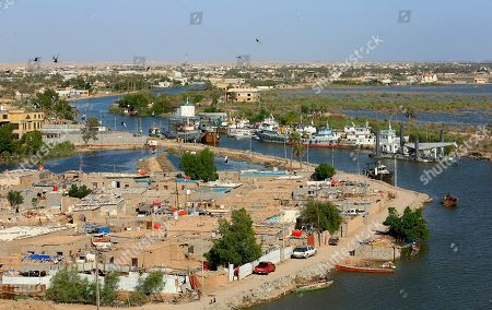 This, aerial photo shows high levels of water in the Shatt al-Arab waterway near Basra, Iraq. After years of disappointing rains and scorching hot summers, the wettest winter in a generation has revived Iraq's rivers and filled its lakes, bringing welcome relief to a country facing severe water challenges in the climate change era