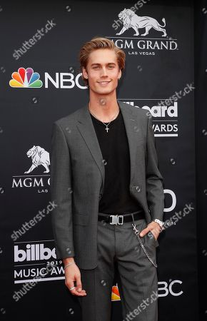 Stock Photo of Neels Visser arrives for the 2019 Billboard Music Awards at the MGM Grand Garden Arena in Las Vegas, Nevada, USA, 01 May 2019. The Billboard Music Awards finalists are based on US year-end chart performance, sales, number of downloads and total airplay.