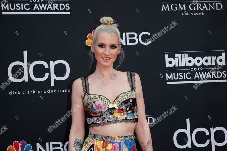 Ingrid Michaelson arrives for the 2019 Billboard Music Awards at the MGM Grand Garden Arena in Las Vegas, Nevada, USA, 01 May 2019. The Billboard Music Awards finalists are based on US year-end chart performance, sales, number of downloads and total airplay.