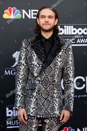 Zedd arrives for the 2019 Billboard Music Awards at the MGM Grand Garden Arena in Las Vegas, Nevada, USA, 01 May 2019. The Billboard Music Awards finalists are based on US year-end chart performance, sales, number of downloads and total airplay.