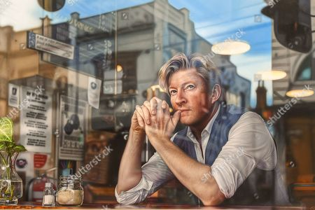 The hyperreal portrait by Perth artist Tessa MacKay of renowned actor and producer David Wenham, titled Through the looking glass, is seen after being named the Packing Room prize winner at the Art Gallery of NSW in Sydney, New South Wales (NSW), Australia, 02 May 2019.