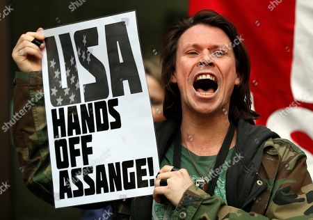 Editorial picture of WikiLeaks Assange, London, United Kingdom - 02 May 2019