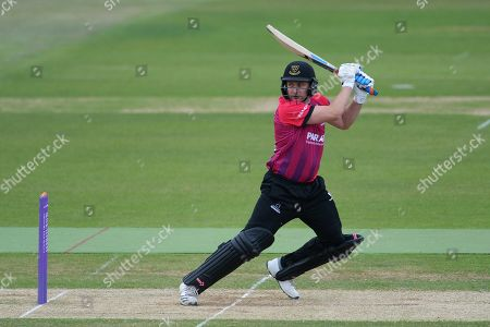 Luke Wright of Sussex batting during the Royal London One Day Cup match between Hampshire County Cricket Club and Sussex County Cricket Club at the Ageas Bowl, Southampton