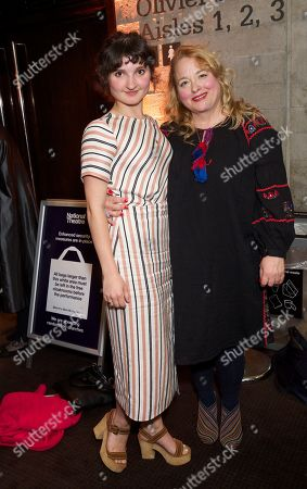 Stock Photo of Ruby Bentall & Beatie Edney