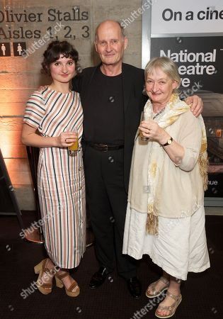 Ruby Bentall, Paul Bentall & Janine Duvitski