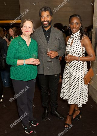 Stephanie Jacob, Karl Collins & Jacqueline Boatswain