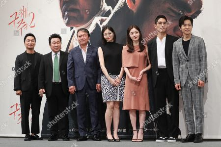 Editorial photo of New drama 'Save Me 2' photocall, Seoul, Korea - 30 Apr 2019