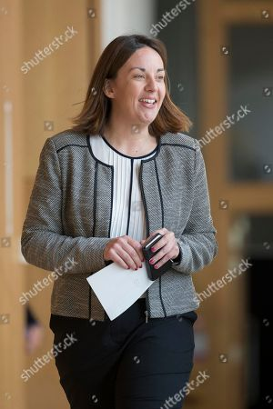 Editorial image of Scottish Parliament First Minister's Questions, The Scottish Parliament, Edinburgh, Scotland, UK - 02 May 2019