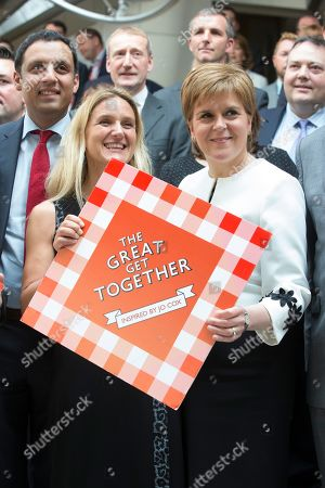 Editorial photo of The Great Get Together photocall at The Scottish Parliament, Edinburgh, Scotland, UK - 2nd May 2019