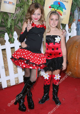 Noah Cyrus (10) and Emily Grace Reaves