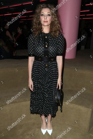 Isidora Goreshter in the front row