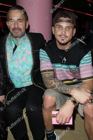 Marc Jacobs and Char DeFrancesco in the front row