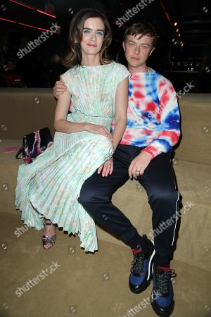 Anna Wood and Dane Dehaan in the front row