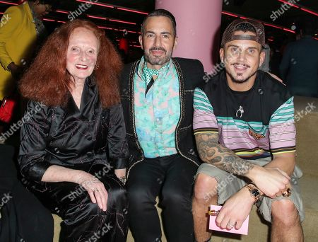 Grace Coddington, Marc Jacobs and Char DeFrancesco
