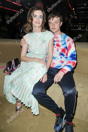 Stock Photo of Anna Wood and Dane Dehaan