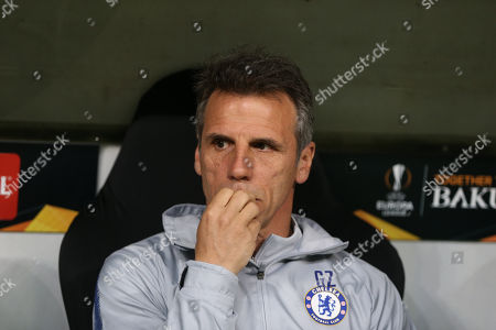 Assistant manager of Chelsea Gianfranco Zola