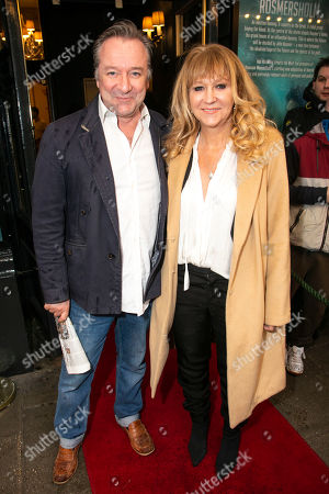 Stock Photo of Neil Pearson and Sonia Friedman (Producer)