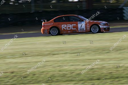 Stock Photo of Andy Neate gets to test the British Touring Car Championship winning BMW 320 racing car