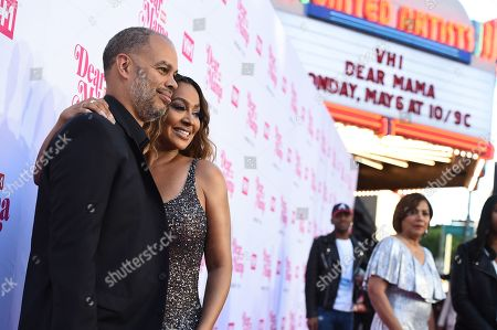 Jesse Collins and La La Anthony