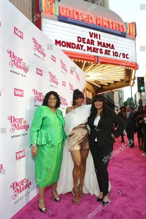 Stock Image of Ciara with grandmother Gladys and mother Jackie Harris