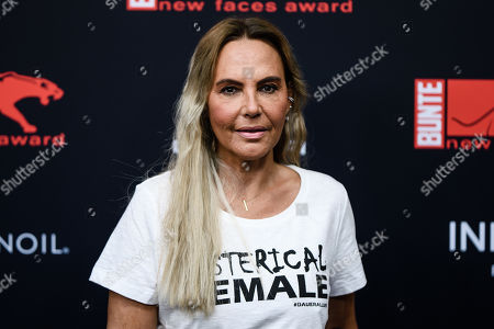 Natascha Ochsenknecht attends the New Faces Award 2019 in Berlin, Germany, 02 May 2019. The New Faces Award is a young talent award that has been awarded since 1998 by the German weekly Bunte.
