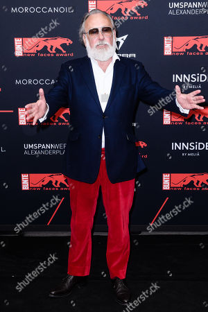 German artist and advertising icon Friedrich Liechtenstein attends the New Faces Award 2019 in Berlin, Germany, 02 May 2019. The New Faces Award is a young talent award that has been awarded since 1998 by the German weekly Bunte.