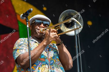 Editorial image of 2019 Jazz and Heritage Festival - Weekend 2 - Day 1, New Orleans, USA - 02 May 2019