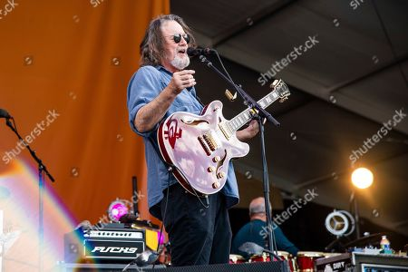 John Bell of Widespread Panic performs at the New Orleans Jazz and Heritage Festival, in New Orleans