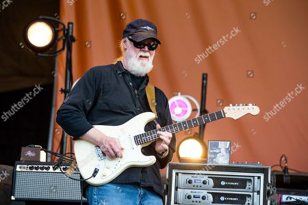 Jimmy Herring of Widespread Panic performs at the New Orleans Jazz and Heritage Festival, in New Orleans