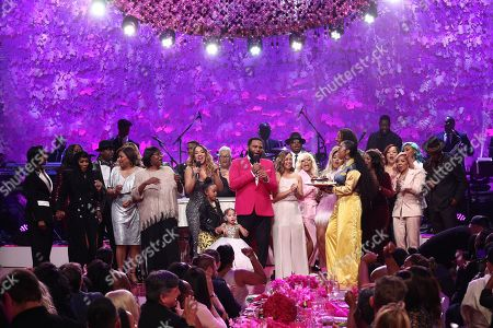 Marilyn Best, Monica, SWV, Shai, Carmen Surillo, Doris Hancox, La La Anthony, Anthony Anderson, Agnes Wilson, H.E.R., Ashanti, Tina Douglas, Tameka 'Tiny' Harris and T I.