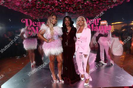 Ashanti, Tina Douglas and Shia Douglas
