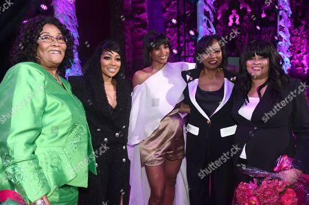 Gladys, Monica, Ciara, Marilyn Best and Jackie Harris