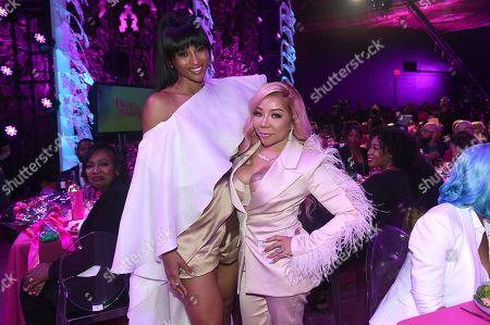 Ciara and Tameka ?Tiny? Harris
