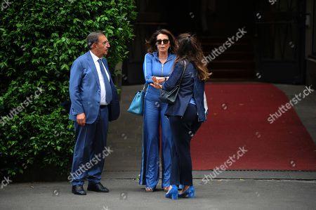Ignazio La Russa and Daniela Santanche