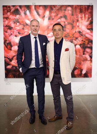 Jean-David Malat and Li Tianbing
