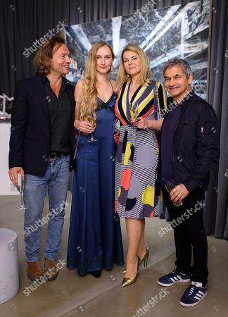 Manuele Malenotti, Marguerita Balanas, Guest and Harry Handelsman