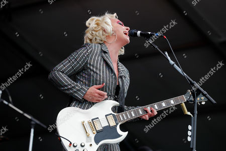 Samantha Fish performs at the New Orleans Jazz & Heritage Festival in New Orleans