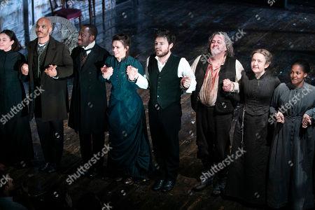 Editorial image of 'Rosmersholm' curtain, Press Night, London, UK - 02 May 2019