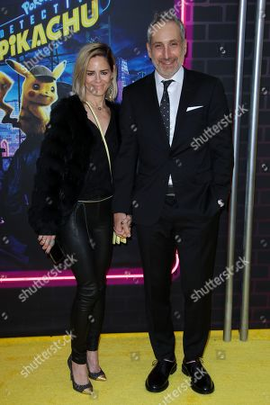 Editorial image of 'Pokemon Detective Pikachu' film premiere, Arrivals, New York, USA - 02 May 2019