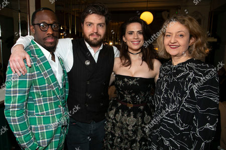 Giles Terera (Andreas Kroll), Tom Burke (John Rosmer), Hayley Atwell (Rebecca West), Jake Fairbrother (Peter Mortensgaard) and Lucy Briers (Mrs Helseth)