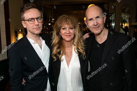 Duncan Macmillan (Adaptation), Sonia Friedman (Producer) and Ian Rickson (Director)